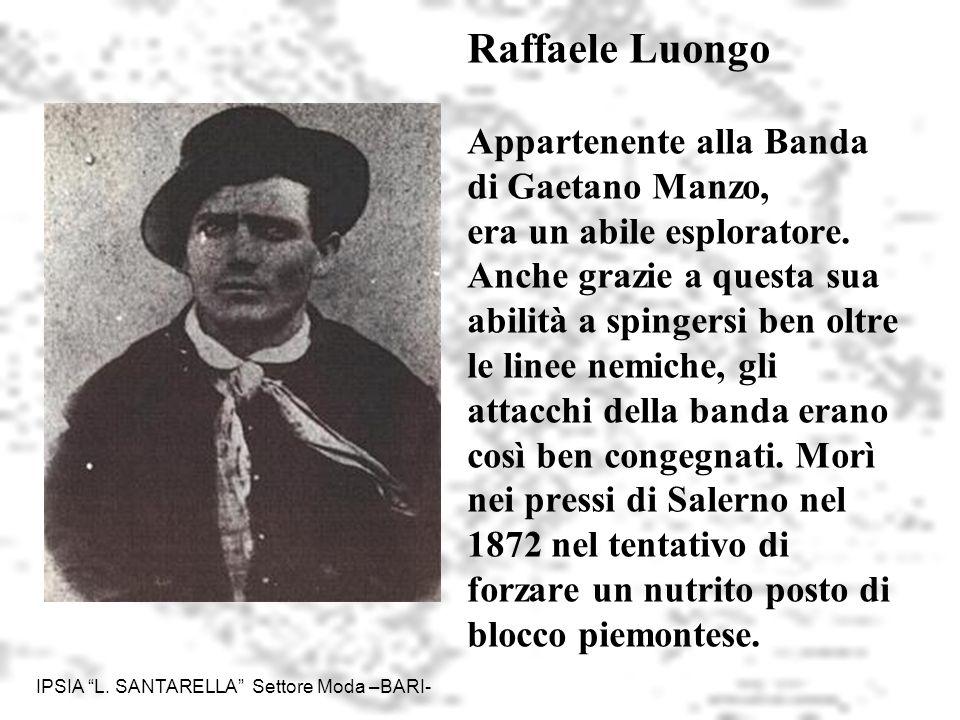 IPSIA L.SANTARELLA Settore Moda -BARI- 6 Giuseppe Schiavone Contadino di S.