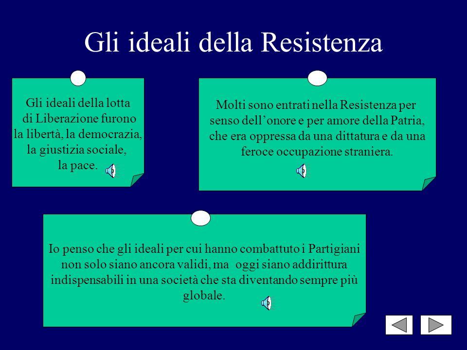 Gli italiani erano stanchi del fascismo, il quale non aveva prodotto che ingiustizie, guerra, fame, ed erano esasperati dai nazisti, dai rastrellament