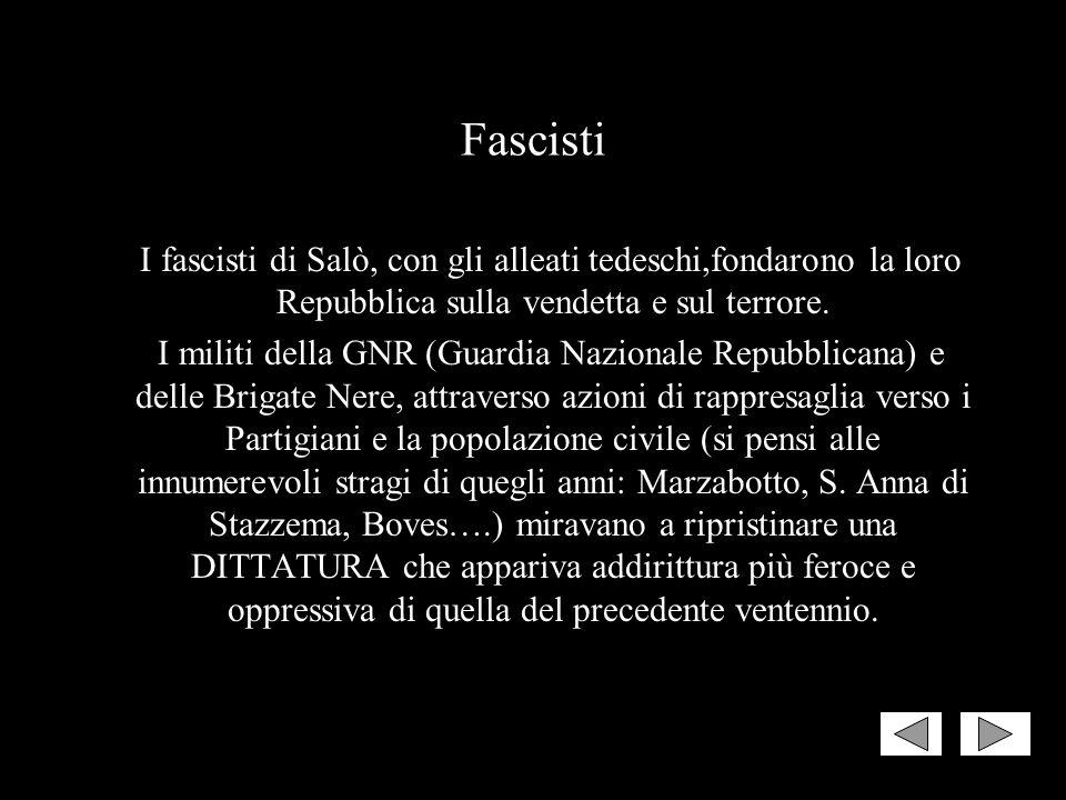 Non dimenticare le differenze! Fascismo e Antifascismo non furono sullo stesso piano. Non si possono confondere, né ritenere simmetricamente giustific