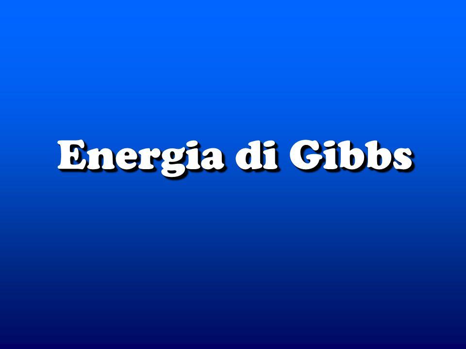 © Dario Bressanini Contributi al G G = H - T S G = H - T S Distinguiamo i due contributi alla variazione di energia di Gibbs Distinguiamo i due contributi alla variazione di energia di Gibbs Entropico ( S) Entropico ( S) Entalpico ( H) Entalpico ( H) H S G.