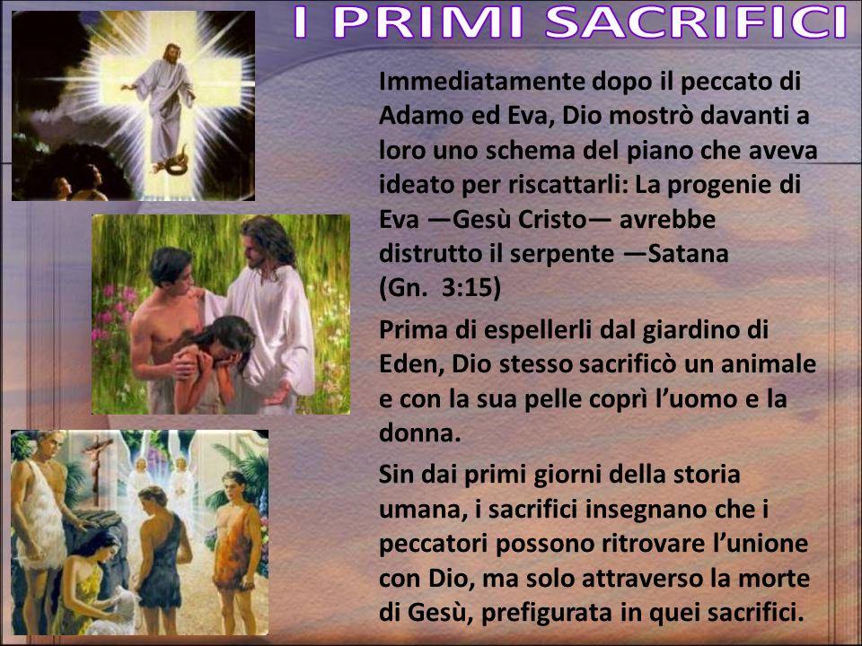 Immediatamente dopo il peccato di Adamo ed Eva, Dio mostrò davanti a loro uno schema del piano che aveva ideato per riscattarli: La progenie di Eva Ge