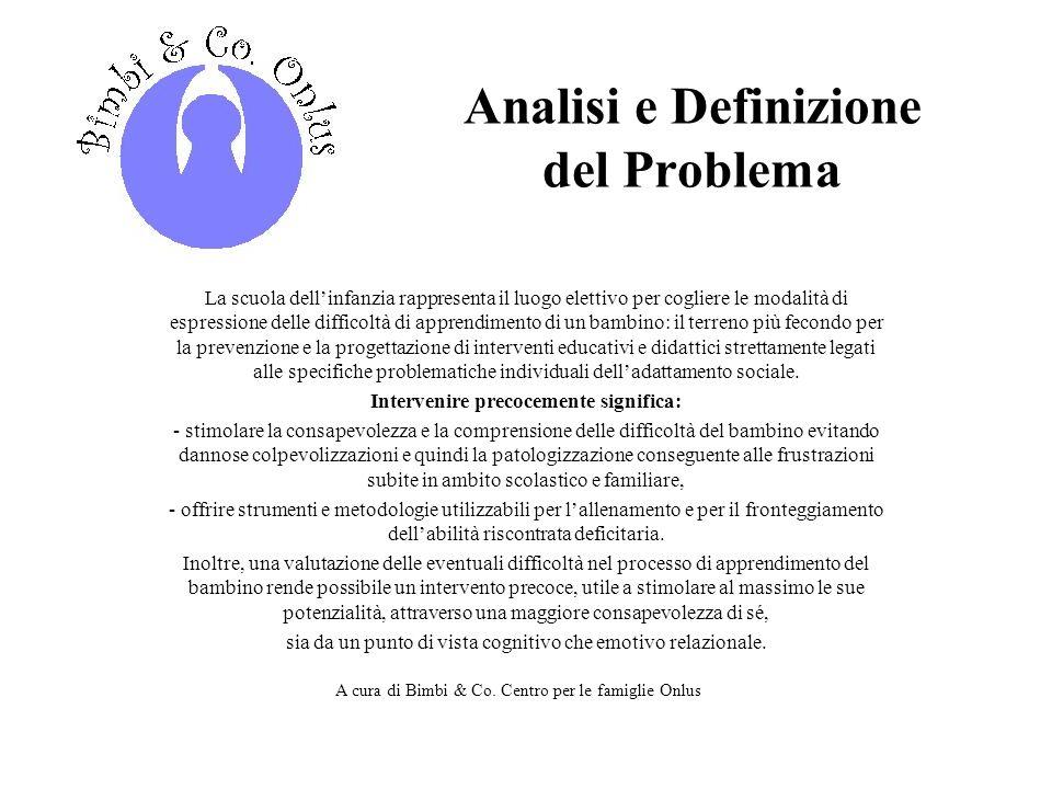 Contatti Associazione Bimbi & Co.