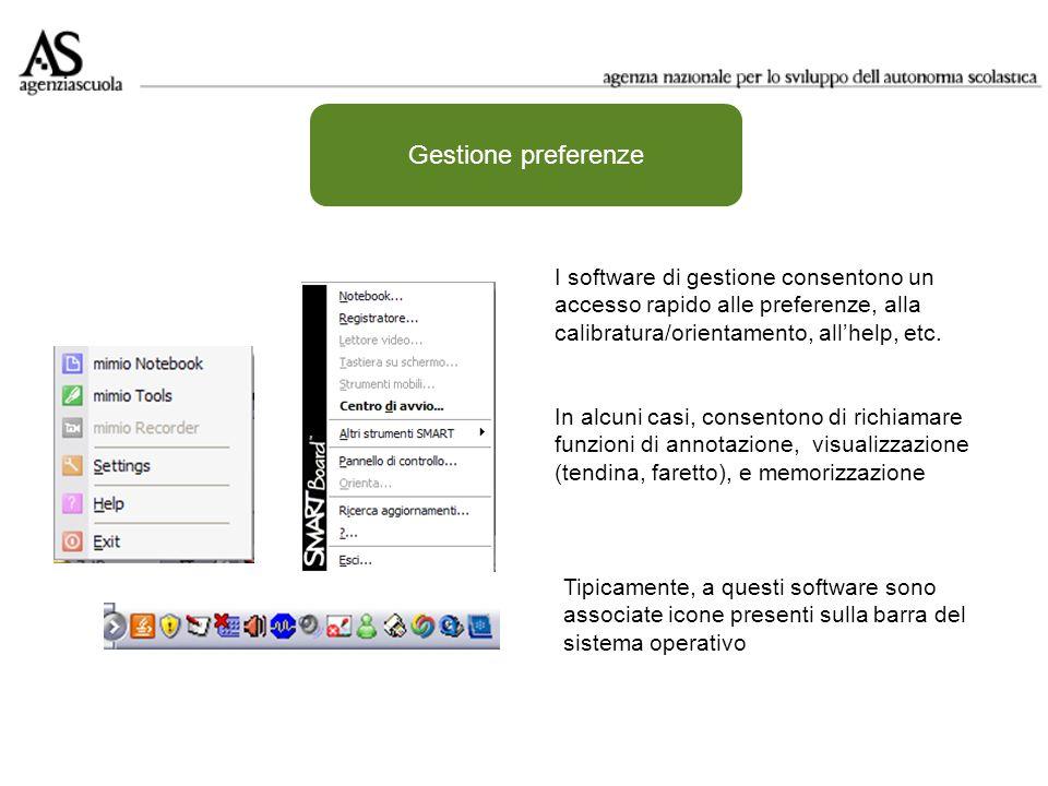 Software autore Area di lavoro