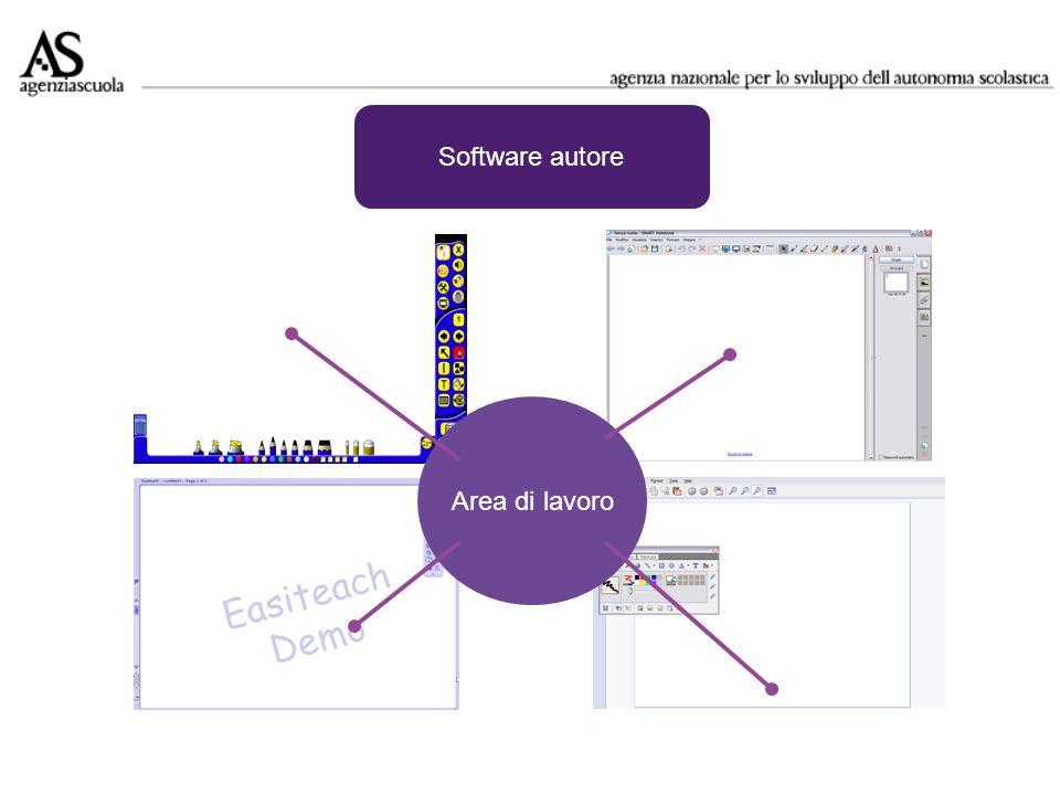 Software autore Sequenze di schermate