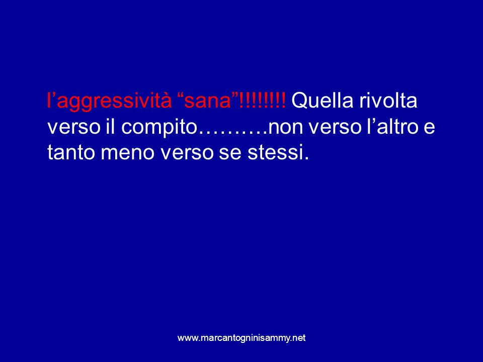 www.marcantogninisammy.net Dire sì!!!! Dire no!!!!