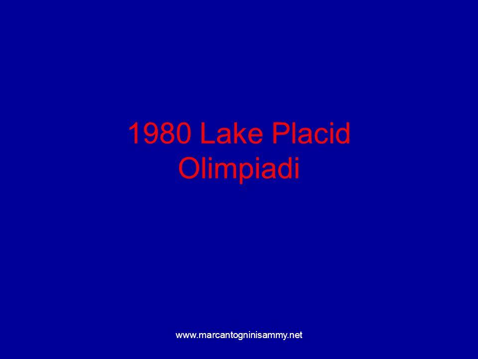 www.marcantogninisammy.net 1980 Lake Placid Olimpiadi