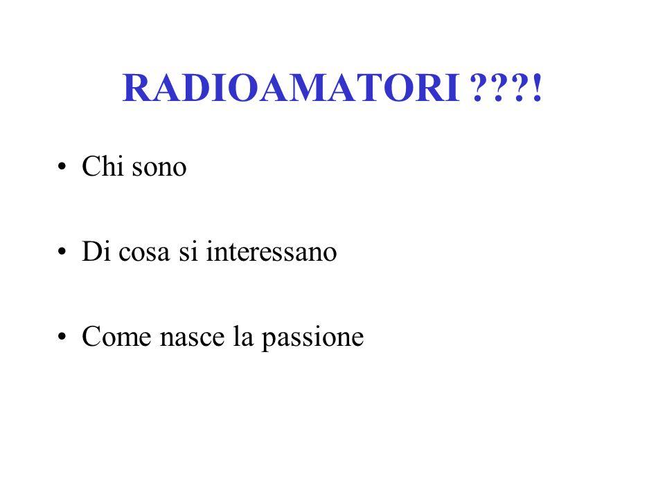 A.R.I. Associazione Radioamatori Italiani Sezione di Imperia Il Radioamatore oggi: competenze, strumenti e utilità sociale. Incontro con gli Studenti