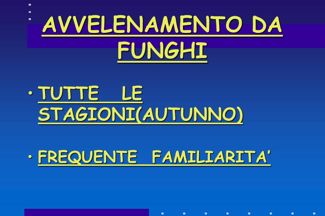 AVVELENAMENTO DA FUNGHI 6000-8000 / ANNO DA ALTRI FUNGHI6000-8000 / ANNO DA ALTRI FUNGHI