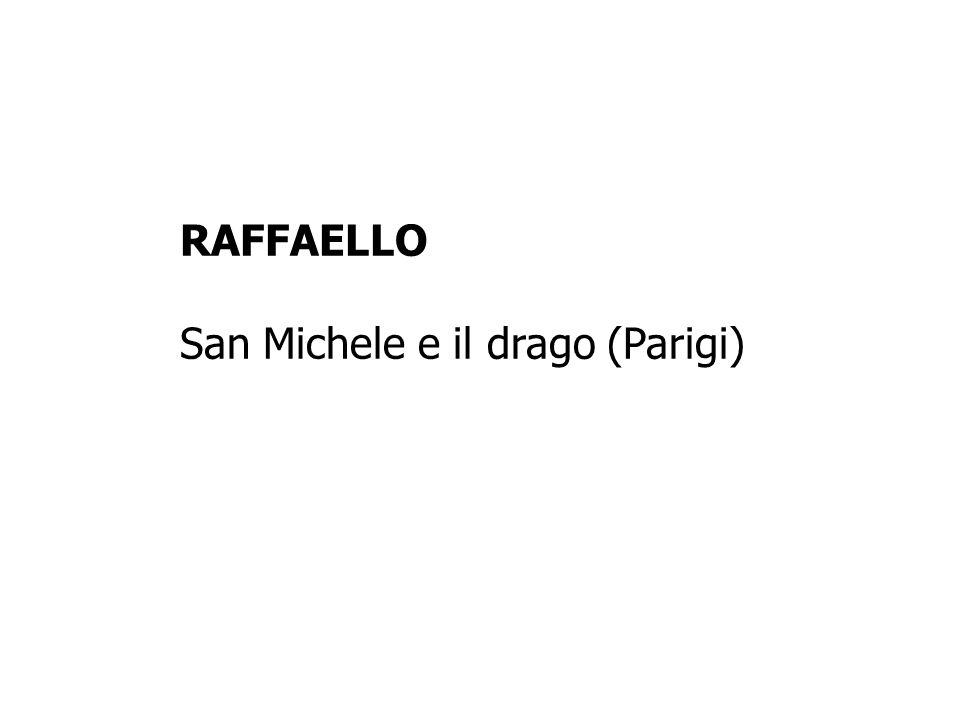 RAFFAELLO San Michele e il drago (Parigi)