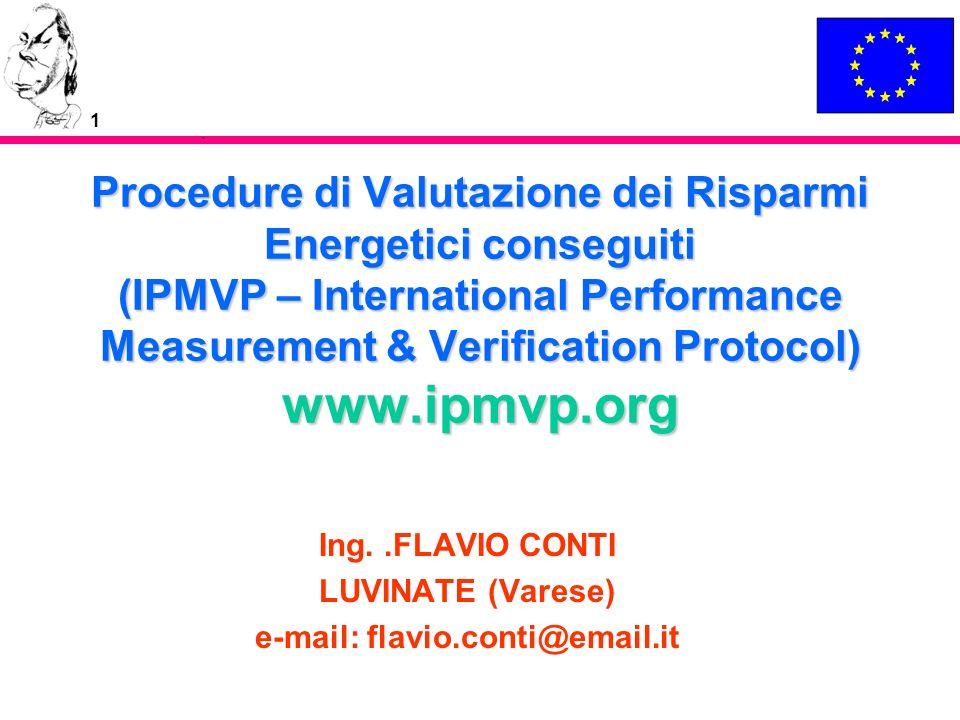 22 Maggiori Informazioni Dr.Satish Kumar Director and Technical Coordinator, IPMVP Inc.
