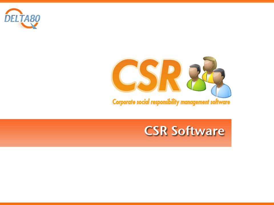 Overview CSR Software è una applicazione web based ideata per aiutare le imprese nella gestione e nella realizzazione del bilancio sociale.