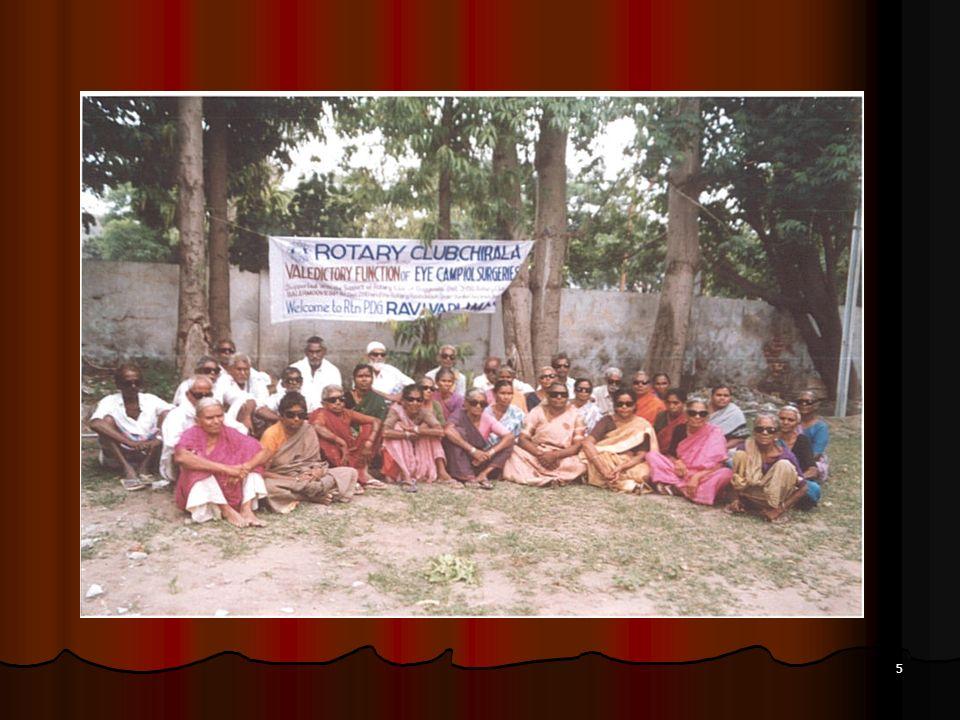 6 2) Acquisto di tre ambulanze in India distretto 3190, nostro FODD e R.F (M.G n.
