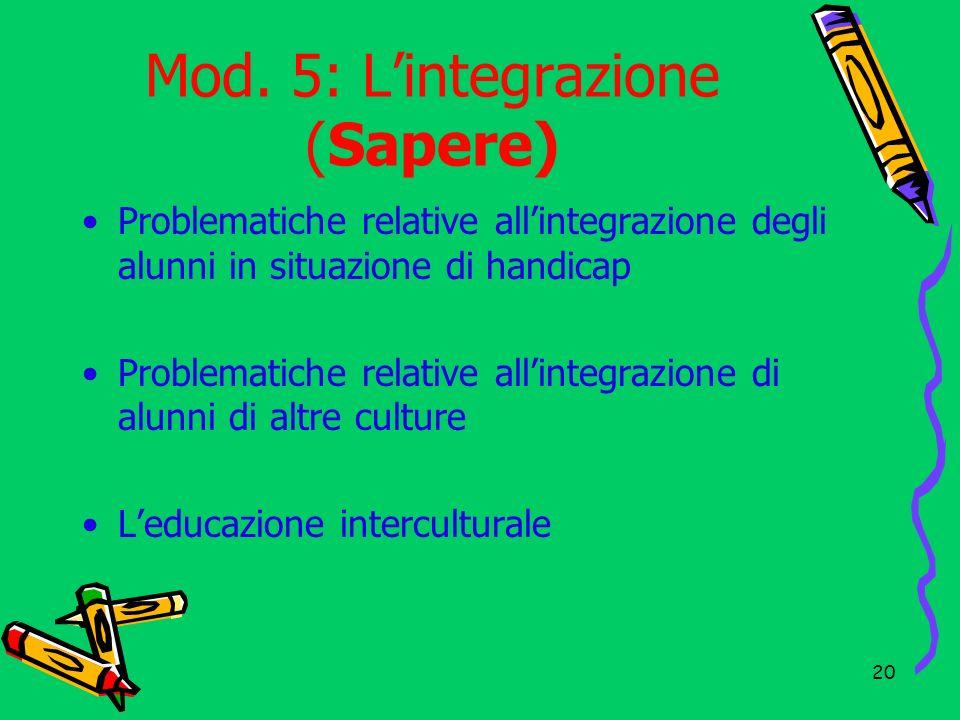 21 Modulo 6: Scuola ed Europea (Sapere) I documenti ed i progetti europei finalizzati alla formazione dei docenti e degli alunni per la promozione di una scuola sempre al passo con i tempi.