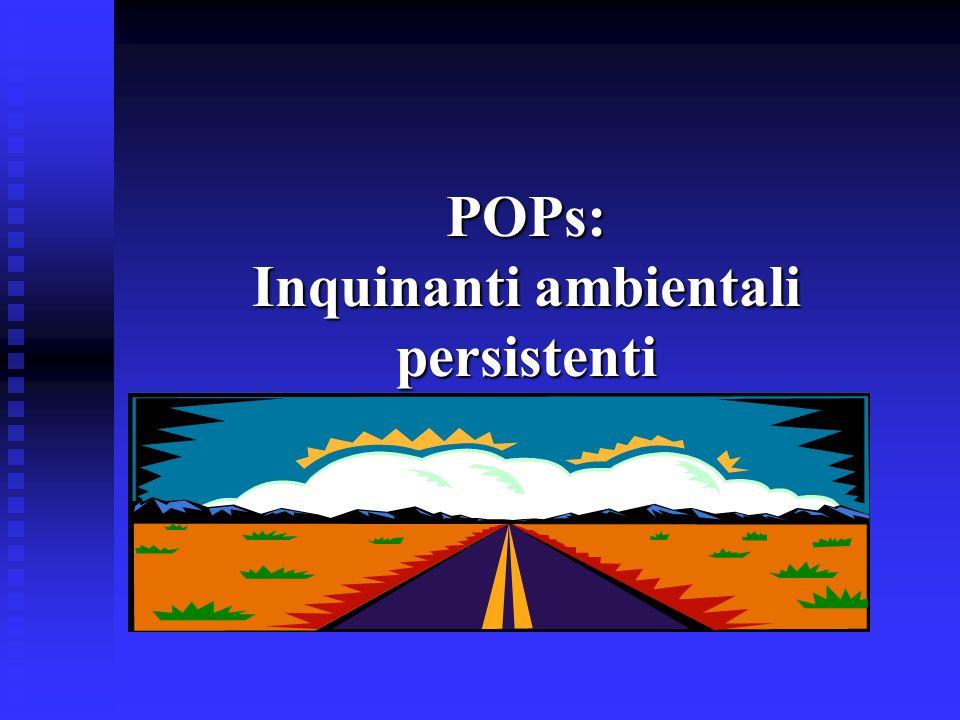 POPs: Inquinanti ambientali persistenti