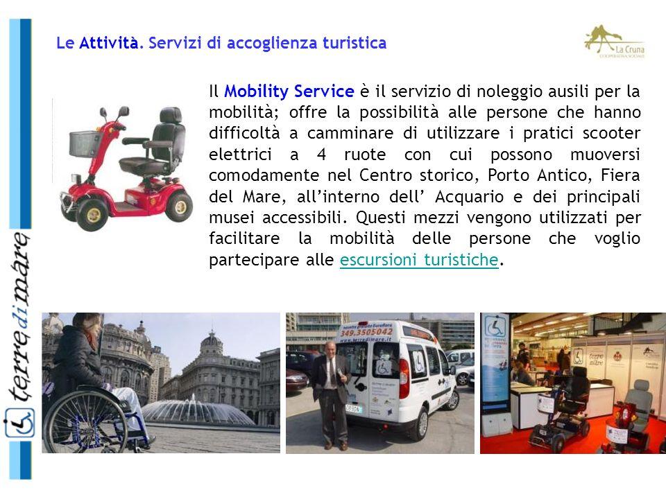 Il Mobility Service è il servizio di noleggio ausili per la mobilità; offre la possibilità alle persone che hanno difficoltà a camminare di utilizzare