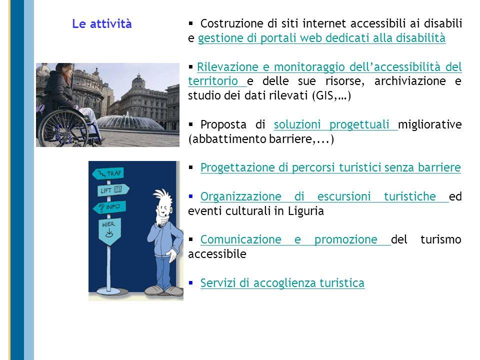 Costruzione di siti internet accessibili ai disabili e gestione di portali web dedicati alla disabilitàgestione di portali web dedicati alla disabilit
