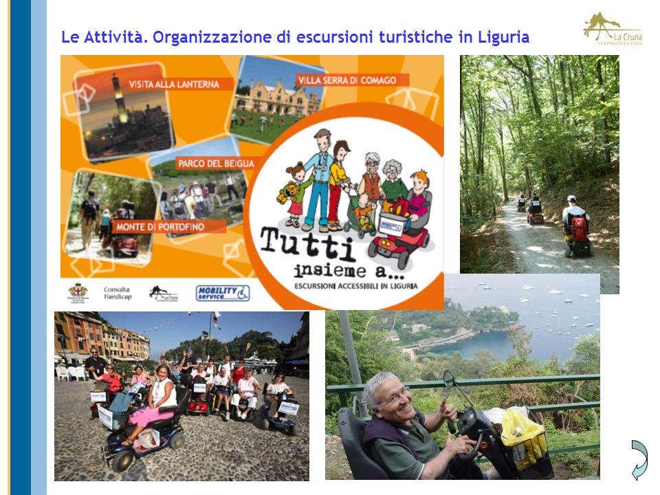 Le Attività. Comunicazione e promozione del turismo accessibile