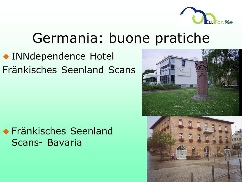 Germania: buone pratiche u INNdependence Hotel Fränkisches Seenland Scans u Fränkisches Seenland Scans- Bavaria