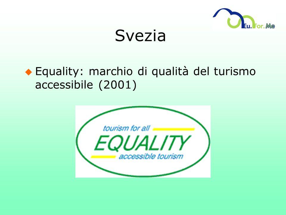 Svezia u Equality: marchio di qualità del turismo accessibile (2001)