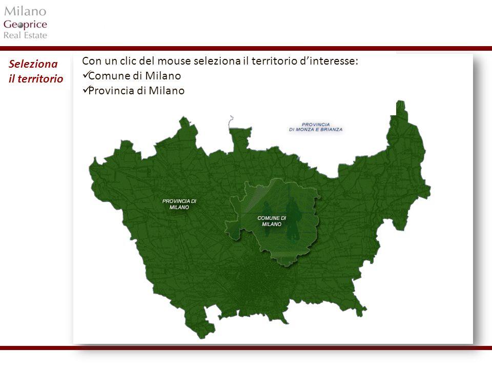 1/24 La mappa della Provincia di Milano è suddivisa in Ambiti.
