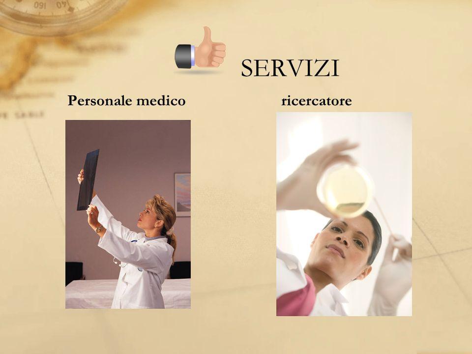 SERVIZI Personale medicoricercatore