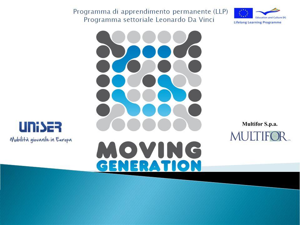 Programma di apprendimento permanente (LLP) Programma settoriale Leonardo Da Vinci