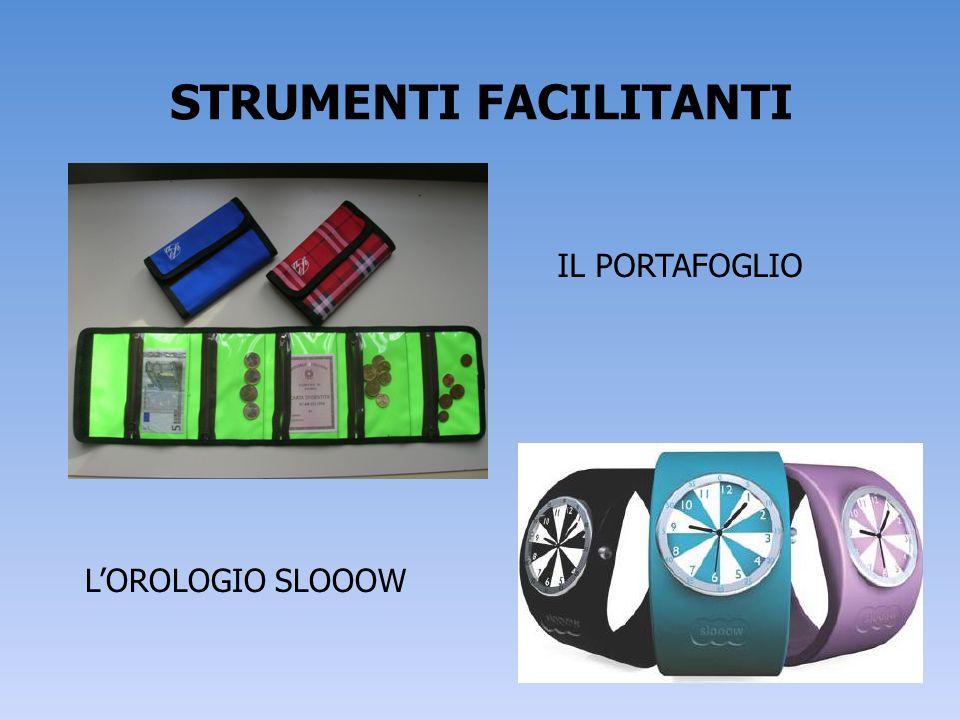 STRUMENTI FACILITANTI IL PORTAFOGLIO LOROLOGIO SLOOOW
