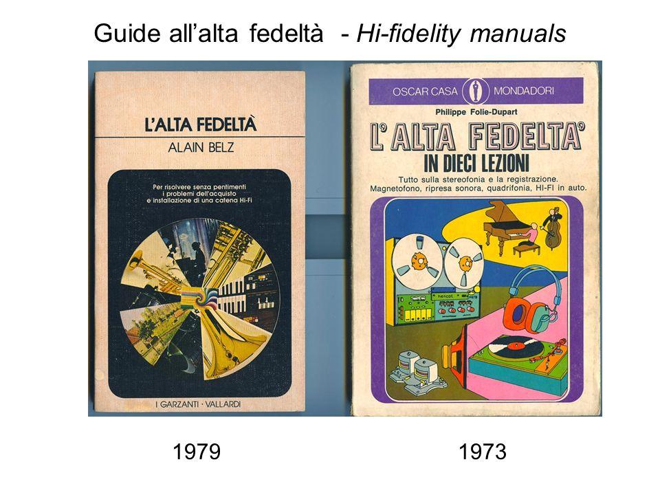 Guide hi-fi Guide allalta fedeltà - Hi-fidelity manuals 19791973