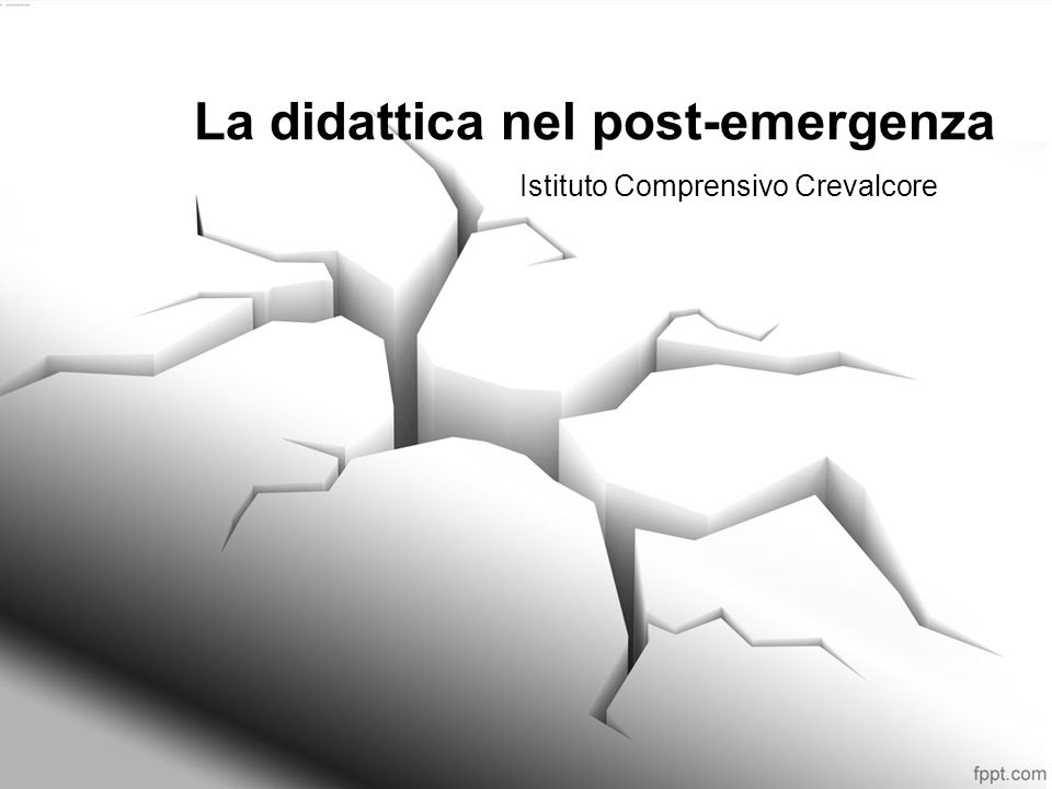 La didattica nel post-emergenza Istituto Comprensivo Crevalcore