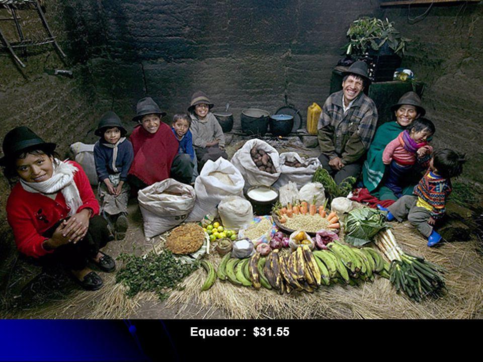 Equador : $31.55
