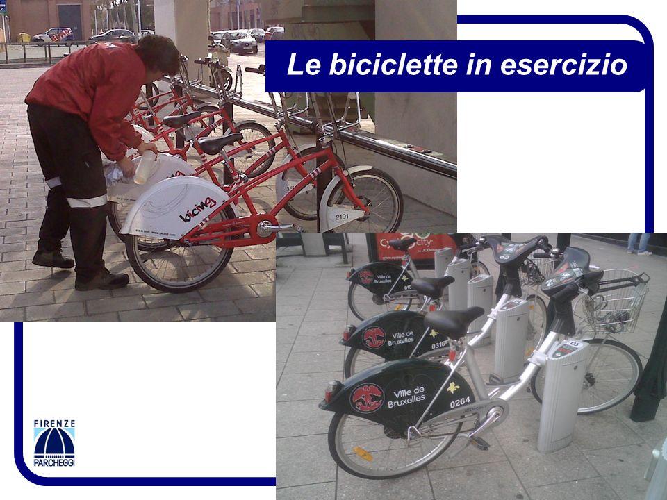 10 Le biciclette in esercizio