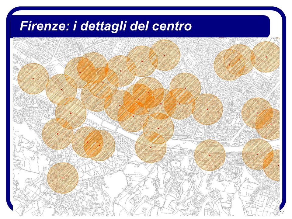 17 Firenze: i dettagli del centro