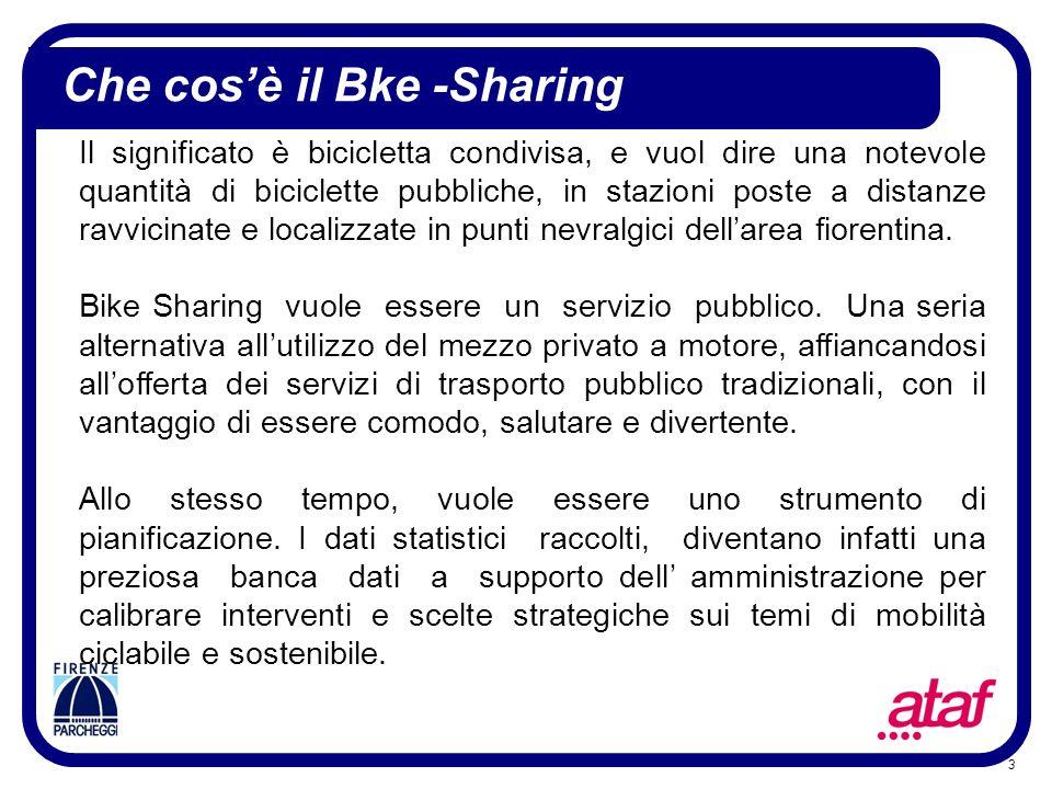 3 Il significato è bicicletta condivisa, e vuol dire una notevole quantità di biciclette pubbliche, in stazioni poste a distanze ravvicinate e localiz