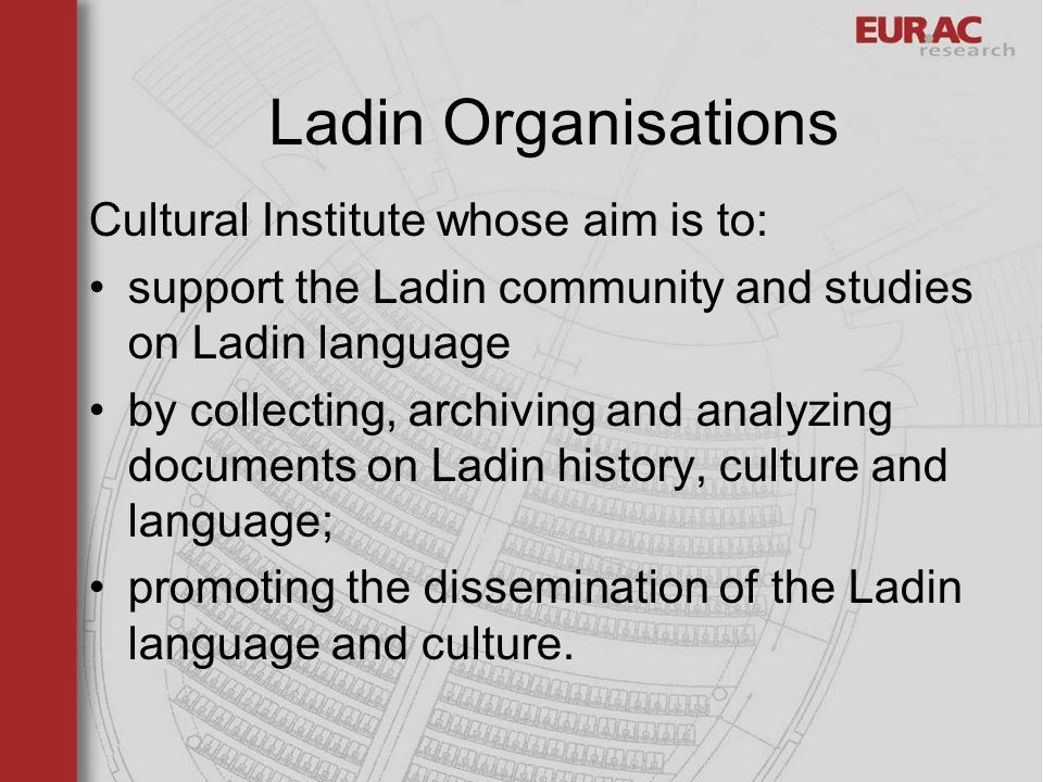 Istitut Cultural Ladin majon di fascegn Data base on ladin standard and ladin variants.