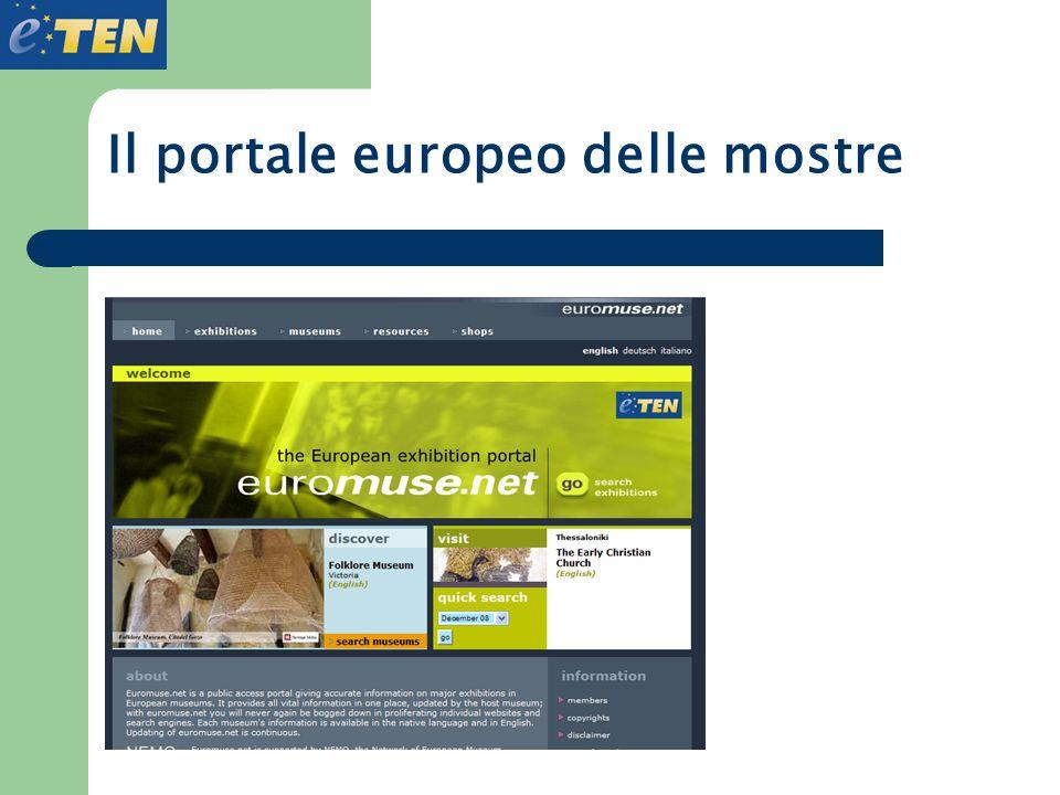 Il portale europeo delle mostre
