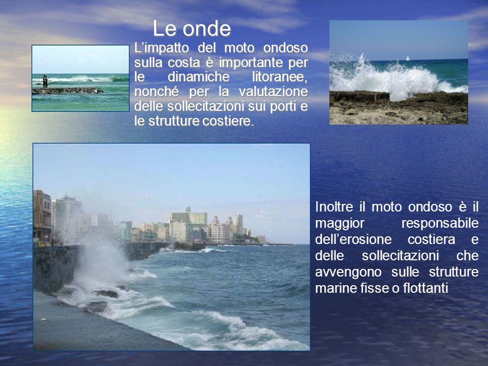 Limpatto del moto ondoso sulla costa è importante per le dinamiche litoranee, nonché per la valutazione delle sollecitazioni sui porti e le strutture