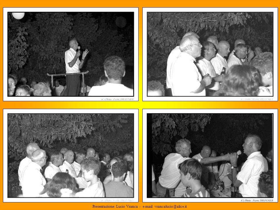 22 Presentazione: Lucio Vranca - e-mail vrancalucio@alice.it
