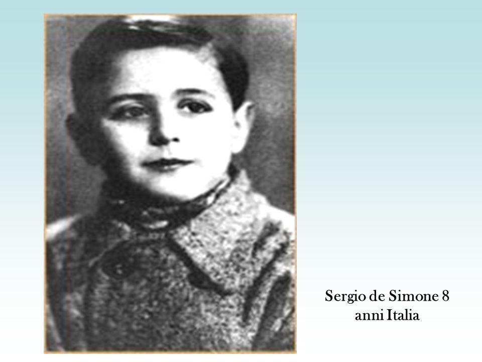 Sergio de Simone 8 anni Italia