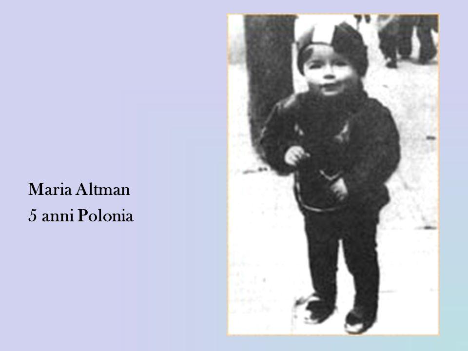 Maria Altman 5 anni Polonia