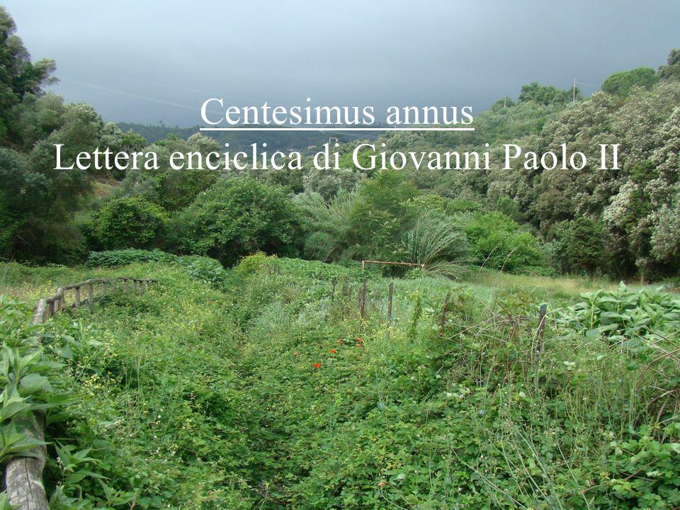 16 Centesimus annus Lettera enciclica di Giovanni Paolo II