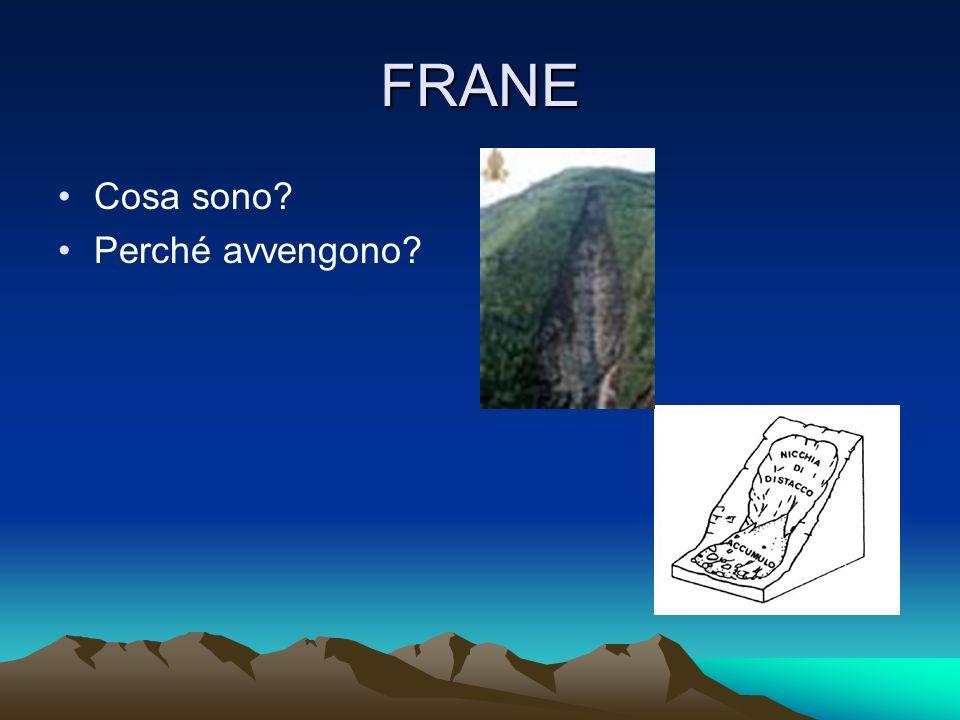 Tre esempi di cattiva gestione dellambiente: 1) SARNO (FRANA)