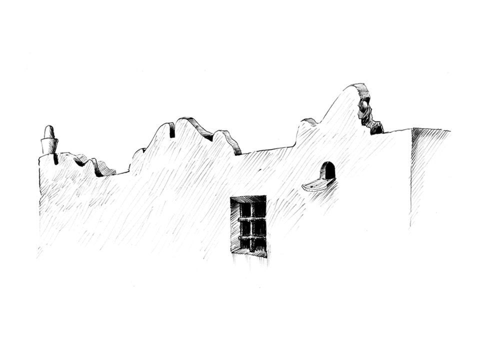 Larchitettura: la casa rurale 8 Con il lento migliorare delle condizioni di vita degli isolani, migliora anche la casa contadina, le facciate vengono