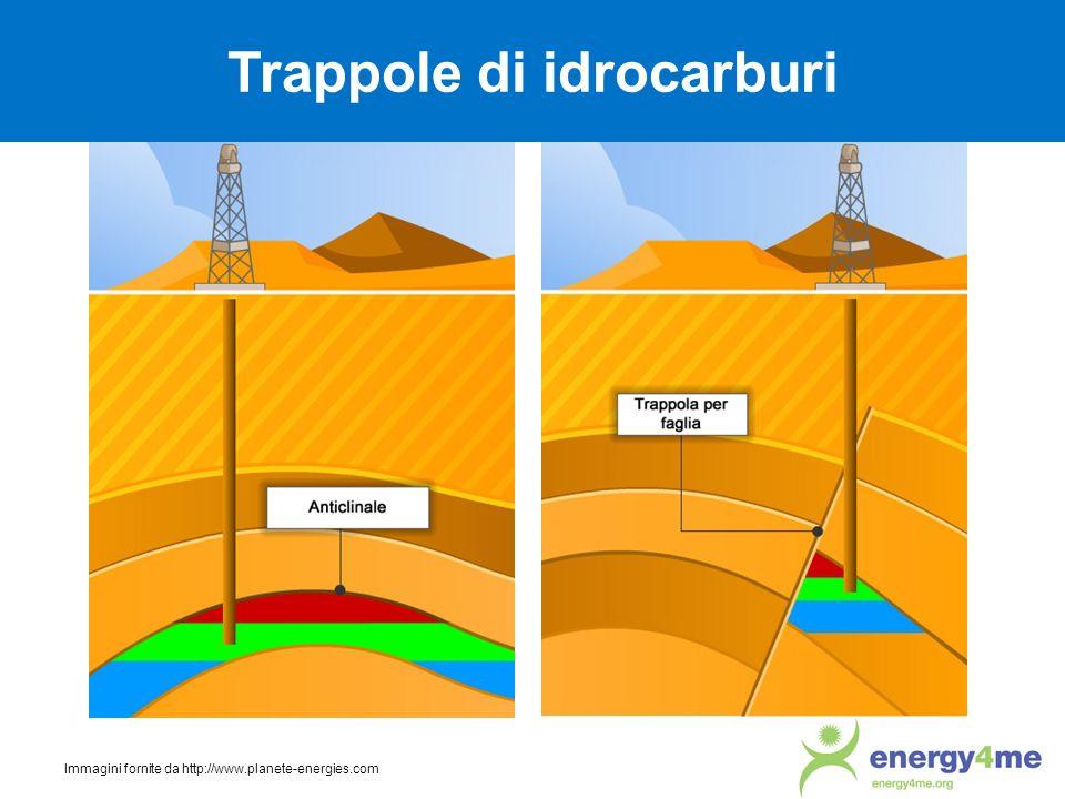 Trappole di idrocarburi Immagini fornite da http://www.planete-energies.com