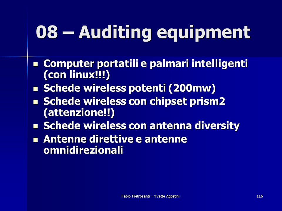 Fabio Pietrosanti - Yvette Agostini116 Computer portatili e palmari intelligenti (con linux!!!) Computer portatili e palmari intelligenti (con linux!!