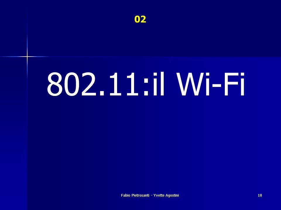 Fabio Pietrosanti - Yvette Agostini18 02 802.11:il Wi-Fi