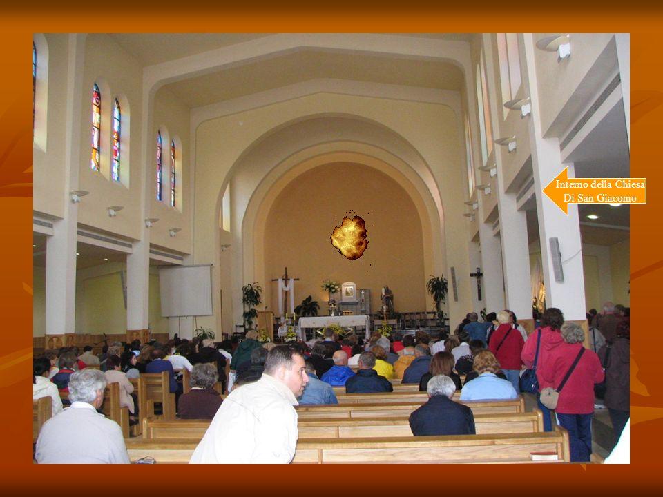 Interno della Chiesa Di San Giacomo