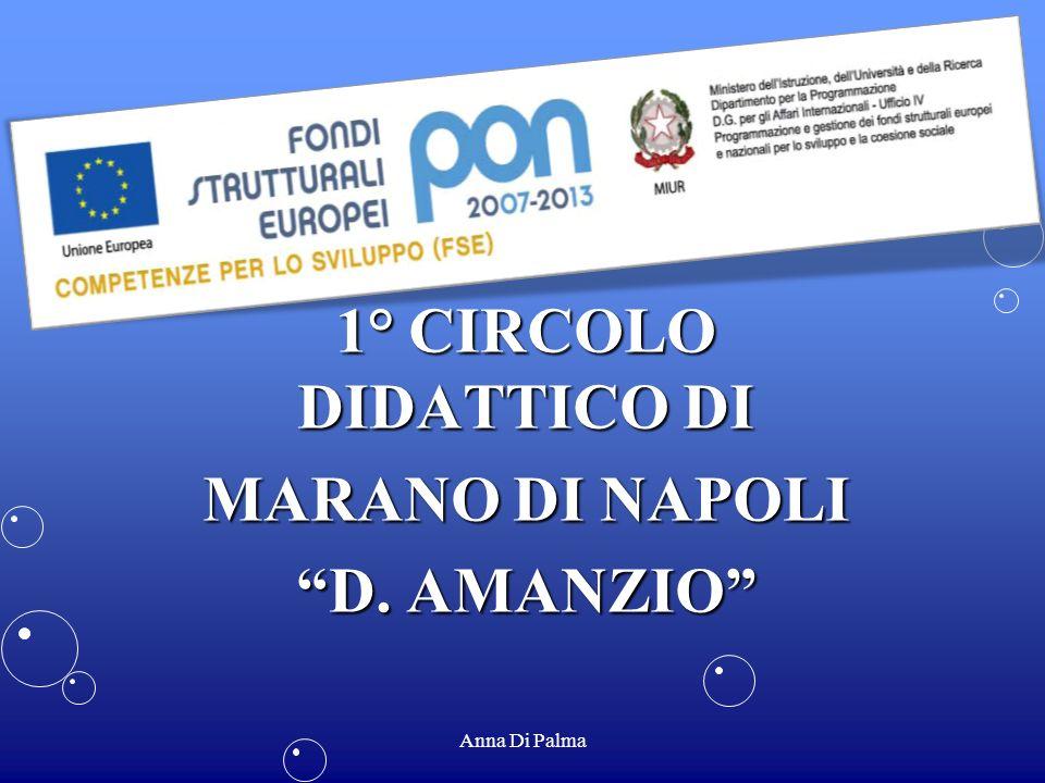 1° CIRCOLO DIDATTICO DI MARANO DI NAPOLI D. AMANZIO Anna Di Palma