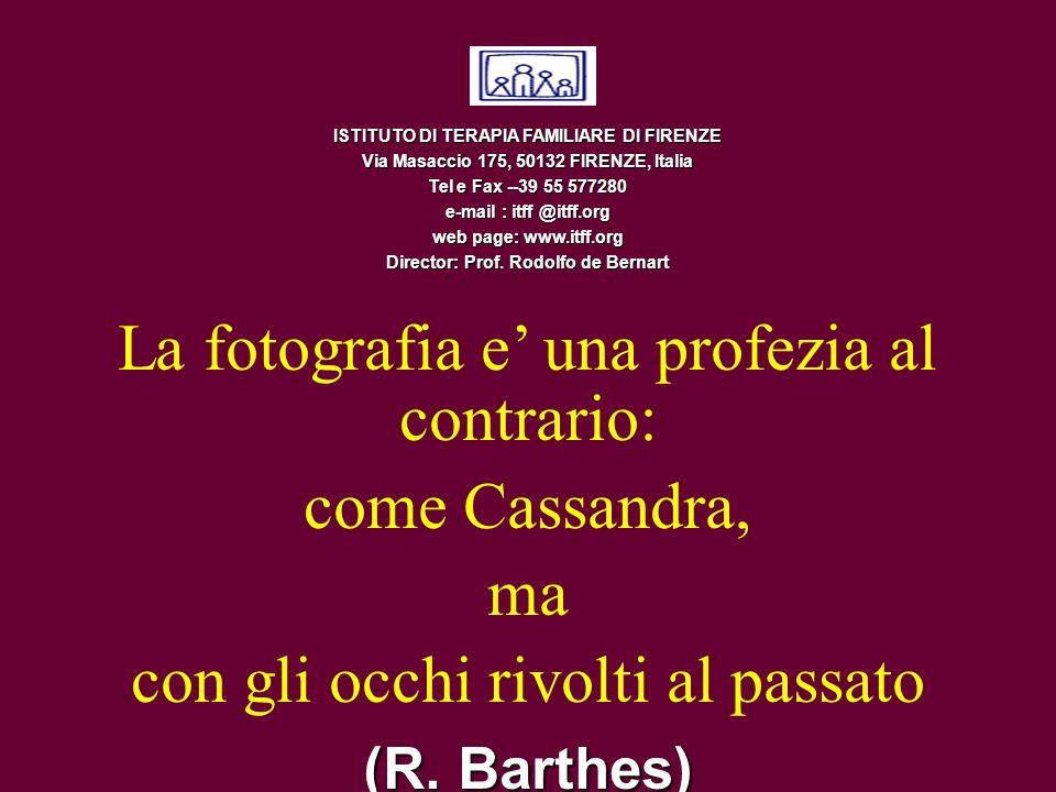ISTITUTO DI TERAPIA FAMILIARE DI FIRENZE Via Masaccio 175, 50132 FIRENZE, Italia Tel e Fax --39 55 577280 e-mail : itff @itff.org web page: www.itff.o