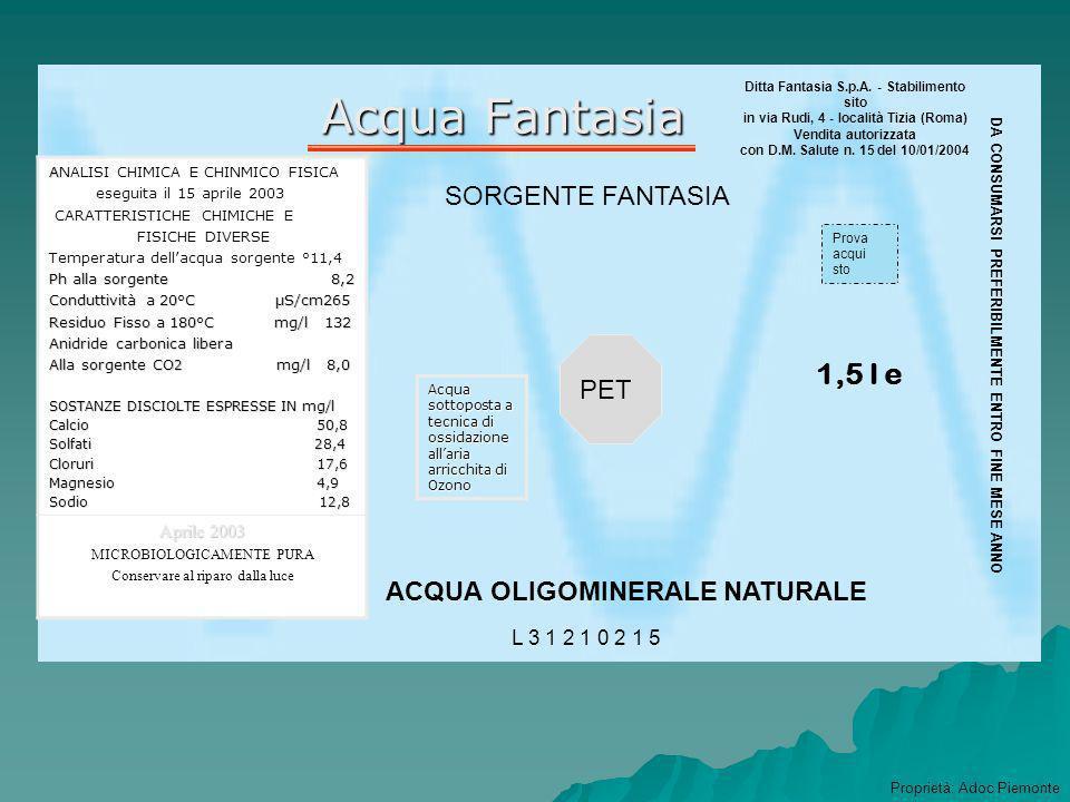 Acque Minerali Naturali In Italia, la normativa sulle acque minerali naturali è di antica data e le prime indicazioni sullacqua risalgono al 1901 (Reg