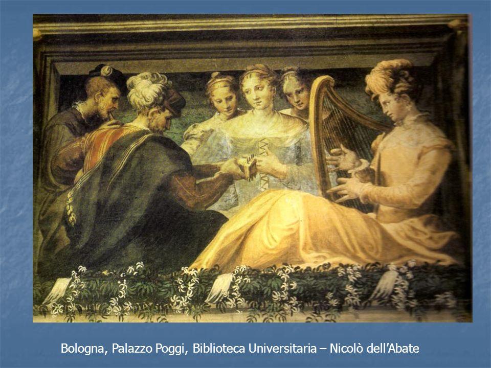 Bologna, Palazzo Poggi, Biblioteca Universitaria – Nicolò dellAbate